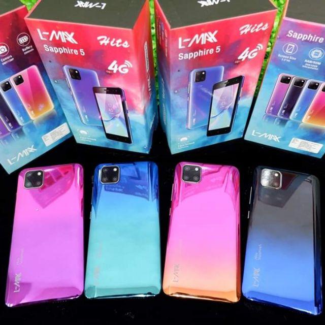 โทรศัพท์มือถือ L-MAX sapphire5 hits แรม 3 รอม 32 GB หน้าจอ 5.0นิ้ว จัดโปรโมชั่นพิเศษเพียง1490 บาท