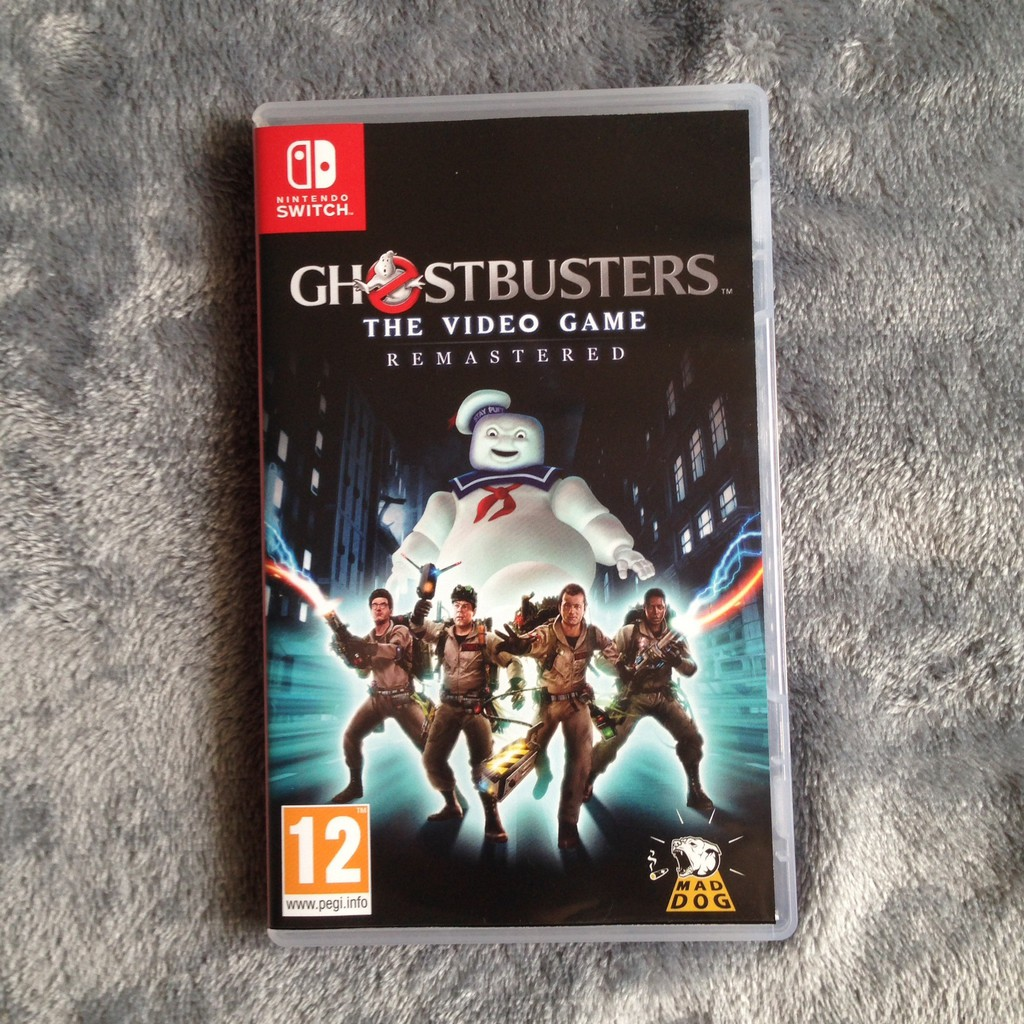 Nintendo Switch Game: Ghostbusters [มือสอง]