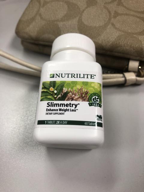 Amway Usaแท Nutrilite Slimmetry Dietary Supplement จำนวน60 เม ด อาหารเสร มควบค มน ำหน ก