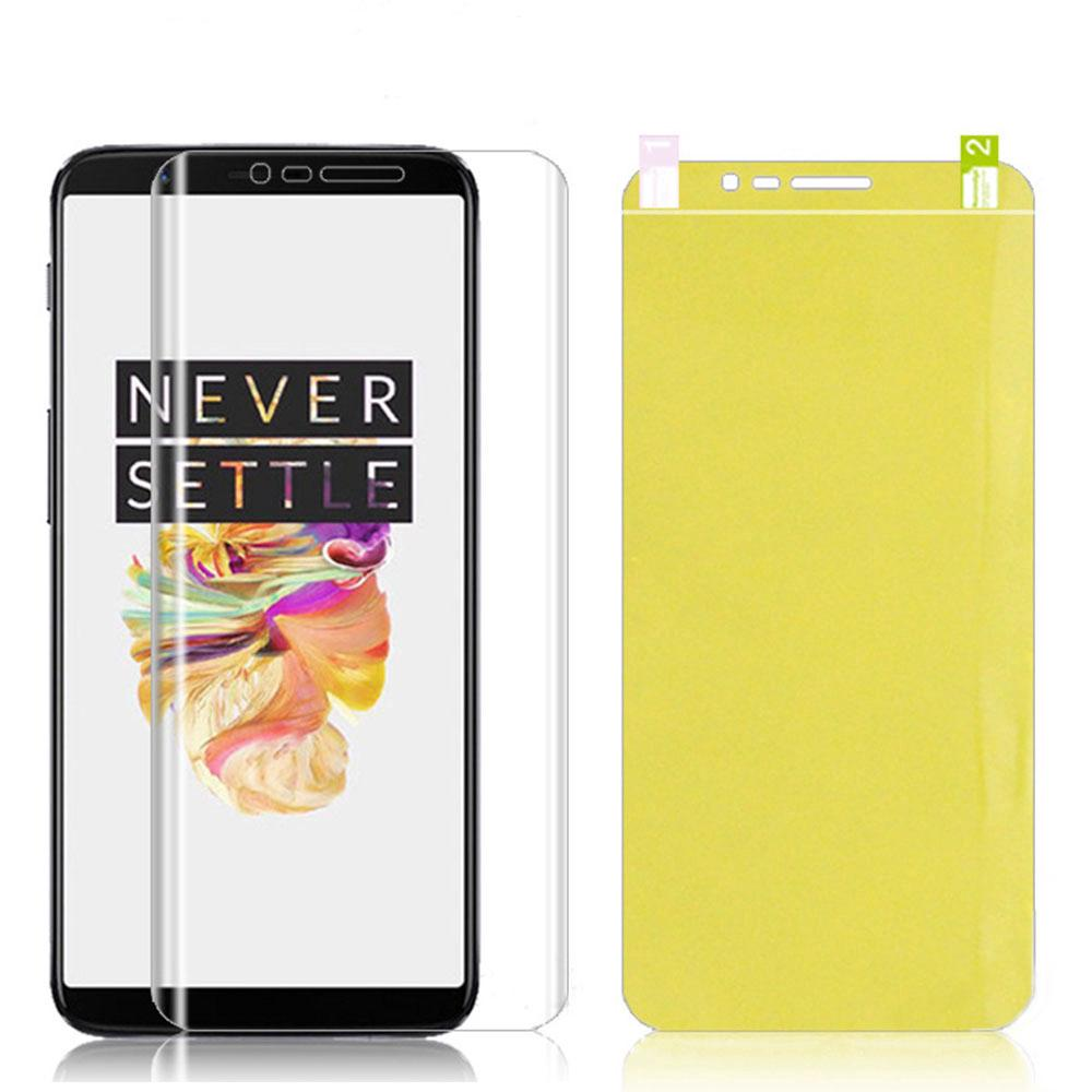Review 7D Full Cover Hydrogel Protective Film 1+ Oneplus 3 3T 5 5T 6 6T 7 Pro 7T Pro Screen Protector (Not Tempered Glass)