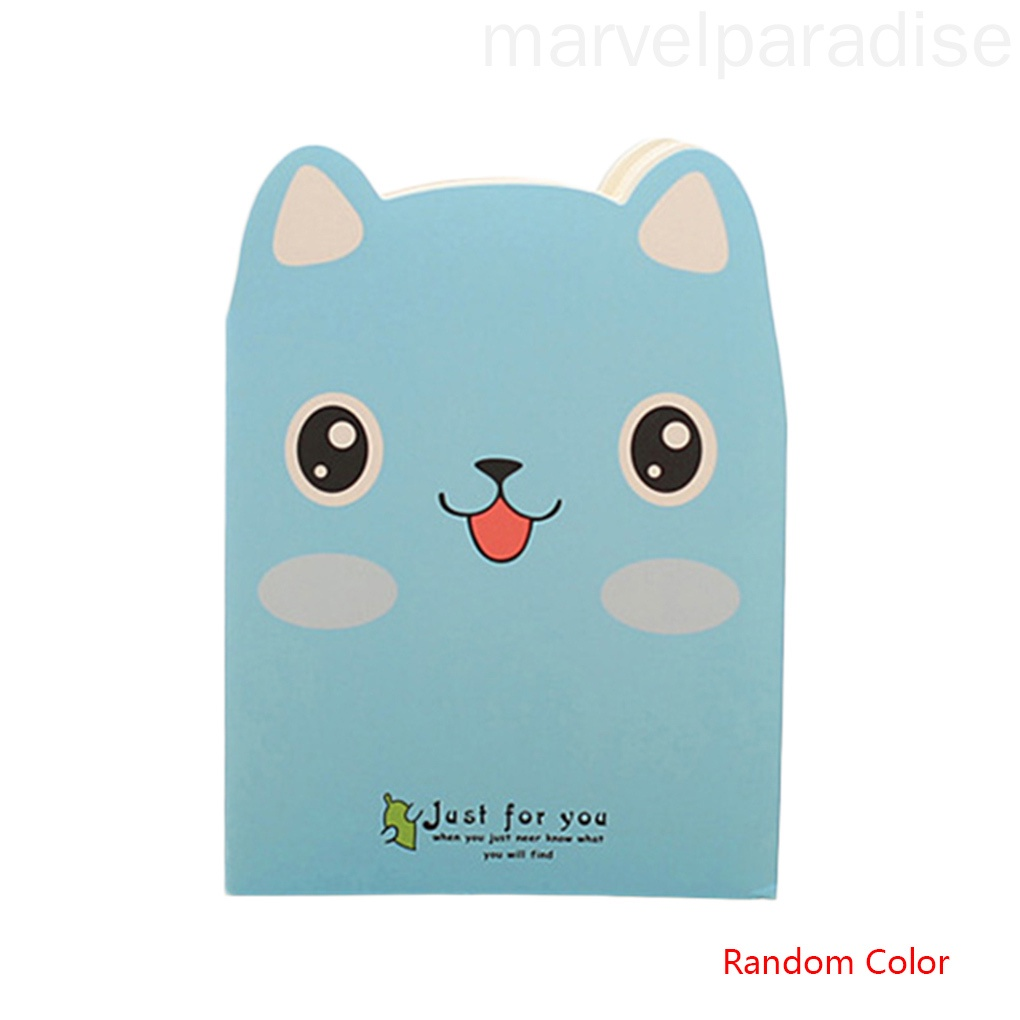Cartoon Animals Carrying Notes Small Books Daily Notebook Mini Notepad Students Diary Book Random Color marvelparadise