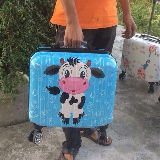 ✘☼●กระเป๋าใส่รถเข็นการ์ตูนมินิไซส์เล็ก 14 นิ้วกระเป๋าเดินทางใบเล็กชายและหญิงขนาด 16 นิ้วกระเป๋าเดินทางสำหรับเด็กเวอร์ช