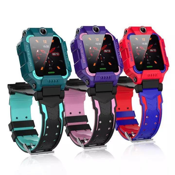 นาฬิกาข้อมือเด็ก smartwatch นาฬิกาไอโม่นาฬิกาเด็ก นาฬิกาเด็ก ไอโม่ รุ่น Z6 พร้อมส่ง รุ่น 2 กล้อง จับตั้งได้ โทรออกได้ รั