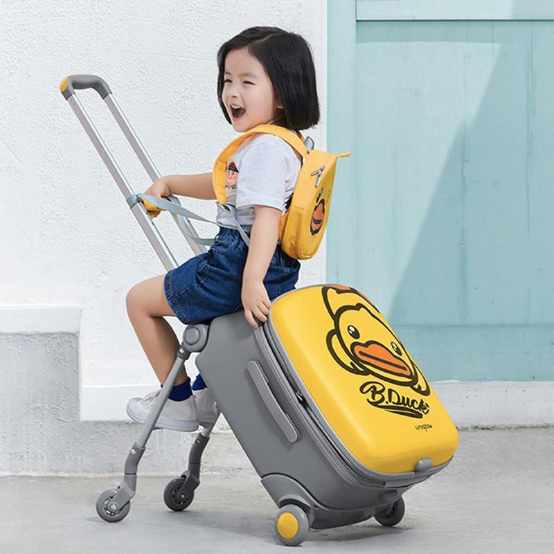 ☮⊗กระเป๋าเดินทางเด็ก  กระเป๋ารถเข็นเดินทาง กระเป๋าเดินทางพกพา กระเป๋าเดินทางสำหรับเด็กกระเป๋าหัดเดินสำหรับเด็กสามารถนั่ง