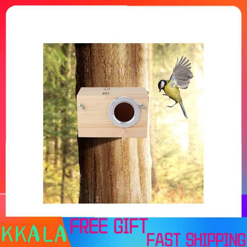 Kkala กล่องเพาะพันธุ์นกขนาด 12x12 X 19 . 5 ซม . สําหรับตกแต่งสวน