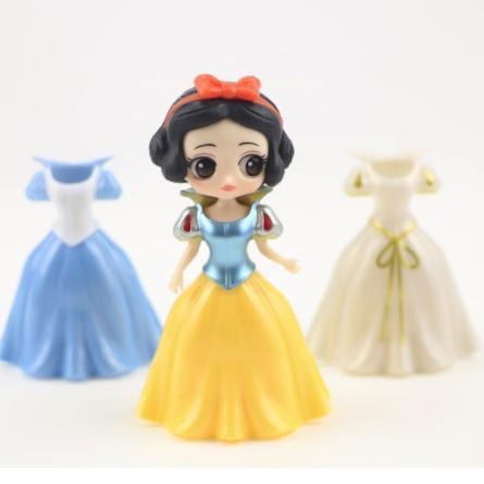 โมเดลตุ๊กตาเจ้าหญิง 6 Figure 18 Dress สําหรับตกแต่งเค้ก