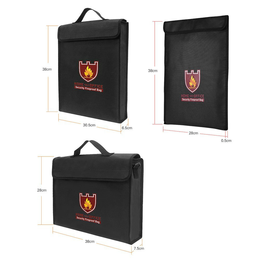 TF Anti-Fire//Fireproof Document Bag