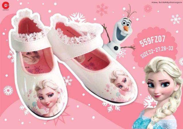 รองเท้าเด็ก Disney รองเท้าคัชชู New Frozen 5eEw