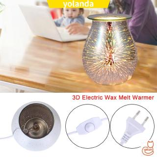 ☆YOLA☆ Air Purifiers International Plug Glass Star Fire Design LED Night Lamp Aroma LED Lamp