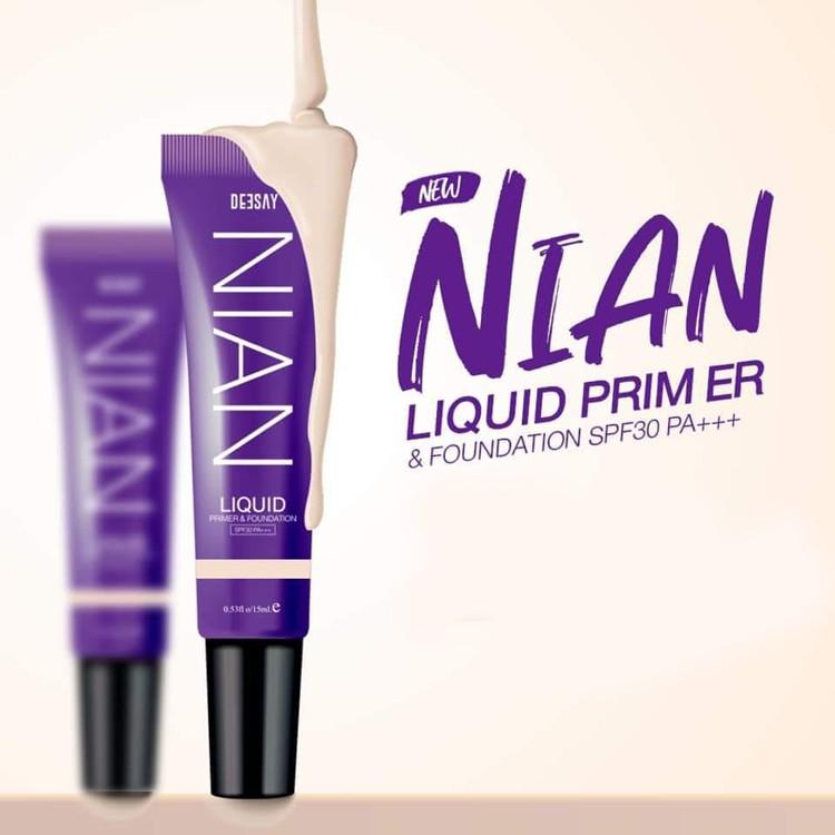 Deesay Nian Liquid Primer & Foundation SPF30 PA+++ รหัส F224-1 | Shopee Thailand
