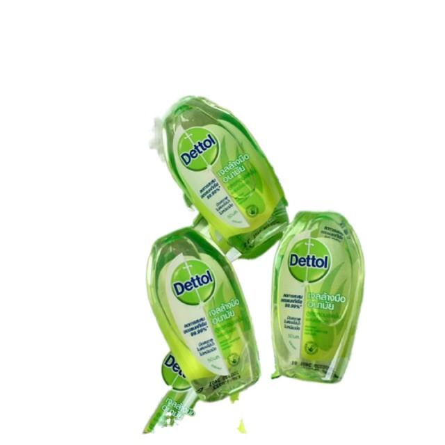 ◇┋เดทตอล Dettol เจลล้างมือ 50ml , ทิชชูเปียก แพ็ค10ชิ้น ลดการสะสมของแบคทีเรีย 99.9% พร้อมส่ง!💥