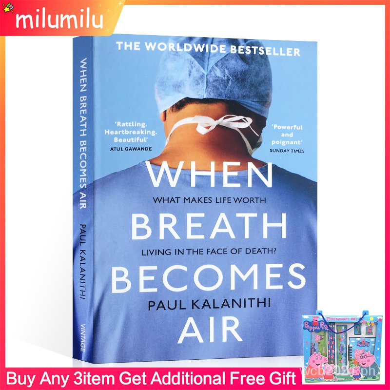 Original Popular Books When Breath Becomes Air Books for Adults Novel vGNE
