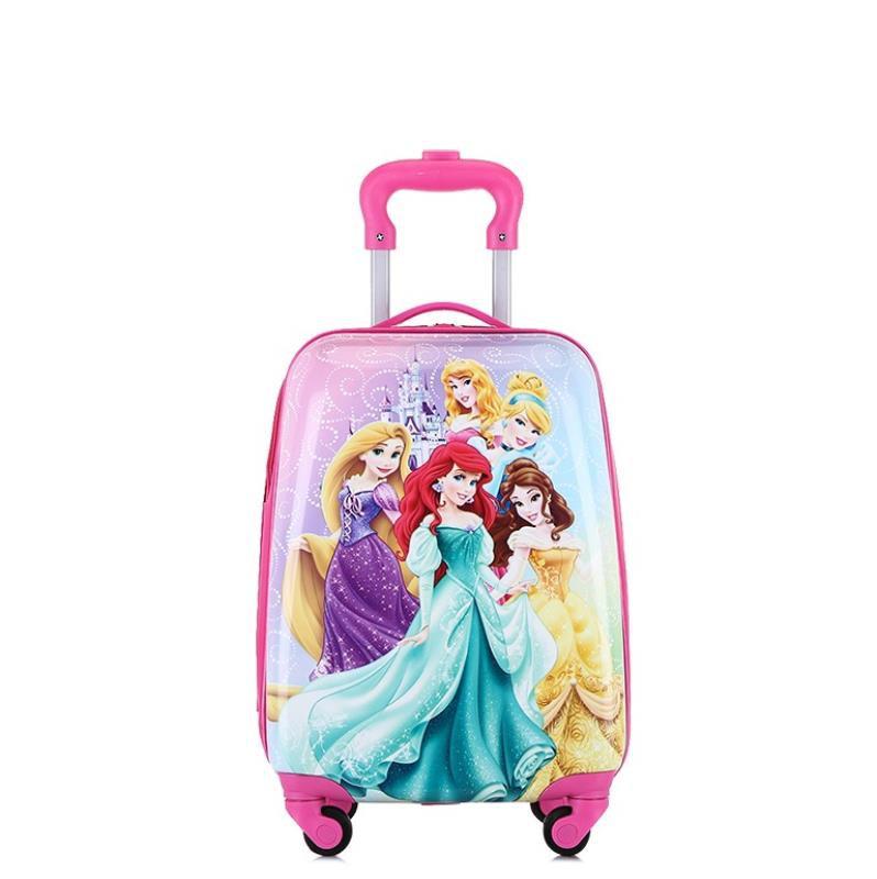 ⊙ヵ กระเป๋ารถเข็นเดินทาง กระเป๋าเดินทางพกพา กระเป๋าเดินทางเด็ก กระเป๋าเดินทางสำหรับเด็กนักเรียนมัธยมต้นเด็กใหม่กระเป๋าเดิ