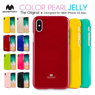 Review Mercury Jelly เคส iPhone XS Max แท้💯% Goospery Pearl Jelly Case เคส TPU นิ่ม