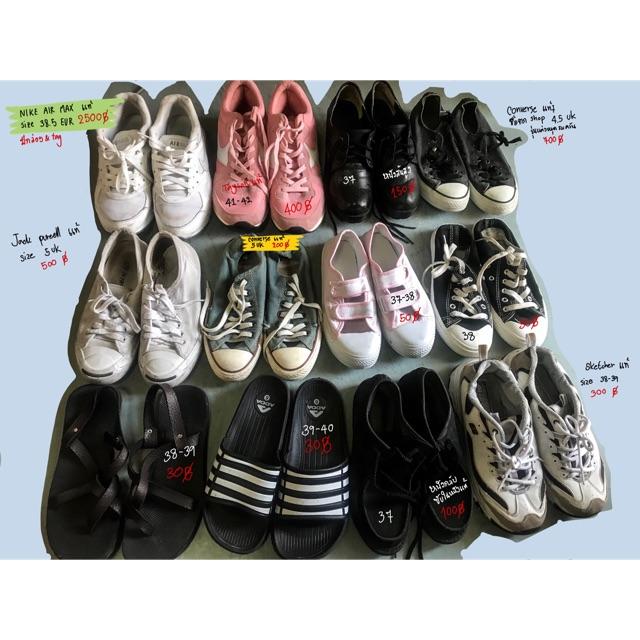 รองเท้าผ้าใบ มือสอง nike air max 90 sketcher converse