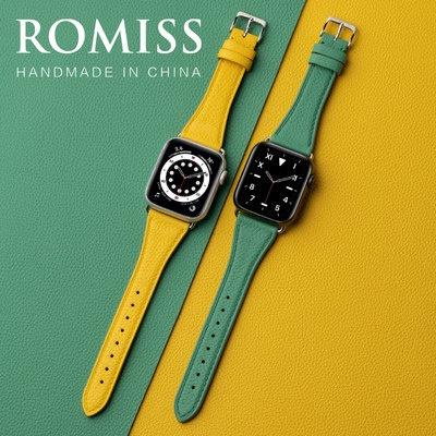 ✆・สายหนังวัวอิตาลีสำหรับ iWatch applewatch applewatch applewatch Apple Watch s/ 6/5/4/3รุ่นพรีเมี่ยมชายและหญิงบุคลิกภาพเ