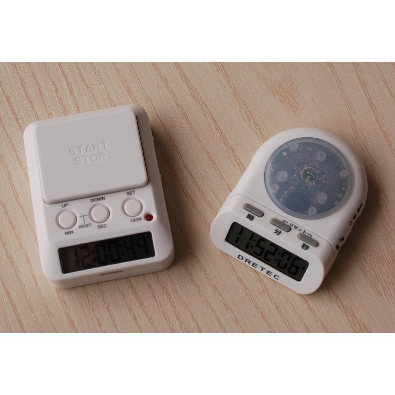 ญี่ปุ่น Dretec Doric จับเวลาการเรียนรู้แฟลชนาฬิกาจับเวลาเตือนปลุกกดนาฬิกานาฬิกามัลติฟังก์ชั่