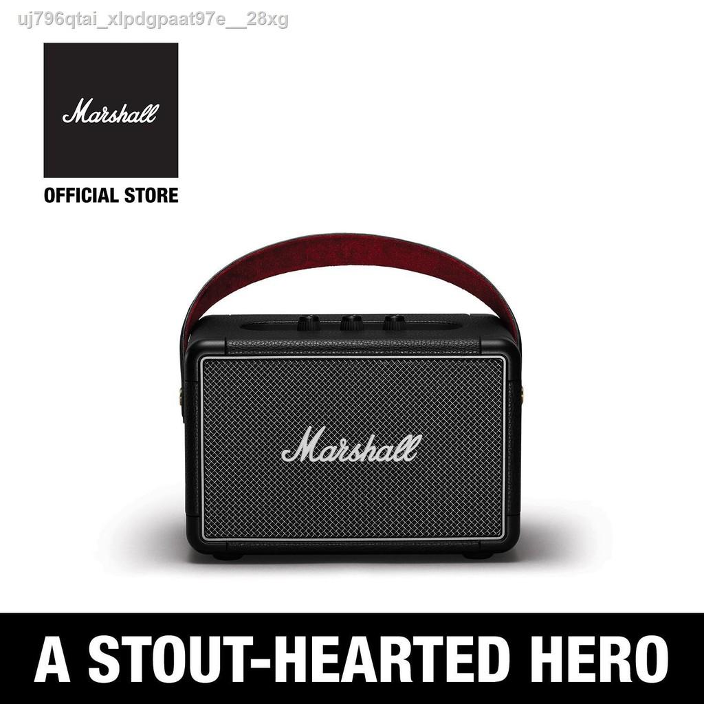 [มีสินค้า]✻♣ลำโพงบลูทู ธ Marshall Kilburn II Bluetooth สีดำ - ชั้น 1 ปี + ส่งฟรีทั่วไทย (ลำโพงบลูทู , ลำโพงพกพา, ลำโพงข