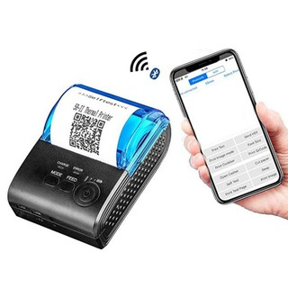 Mini Portable 58 mm. Bluetooth Android 4.0 Thermal POS Printer 58 MM เครื่องพิมพ์ใบเสร็จแบบพกพา