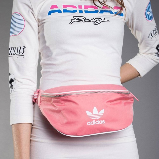 Sale Adidas PRIDE BUM BAG Pink ของแท้  ซื้อ - เท่านั้น ฿1 5168281467f0b
