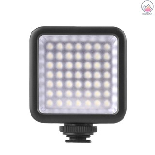 Portable Camera Photo Lighting LED Video Photography Fill Light for DSLR Cameras High Brightness White Filter and LCD Di