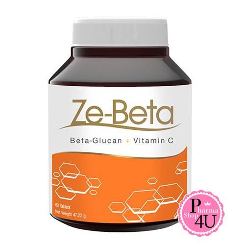 Ze-Beta Glucan Plus C (ซี-เบต้ากลูแคน พลัส ซี) 60 แคปซูล