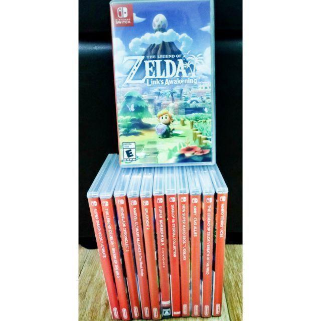 ✻❍แผ่นเกมส์ NintendoSwitch มือสอง Kirby,Zelda,Mario,Octopath,Splatoon2,Xenoblaed,AstralChain,Doraemon,Bomberman,Arms,Sm