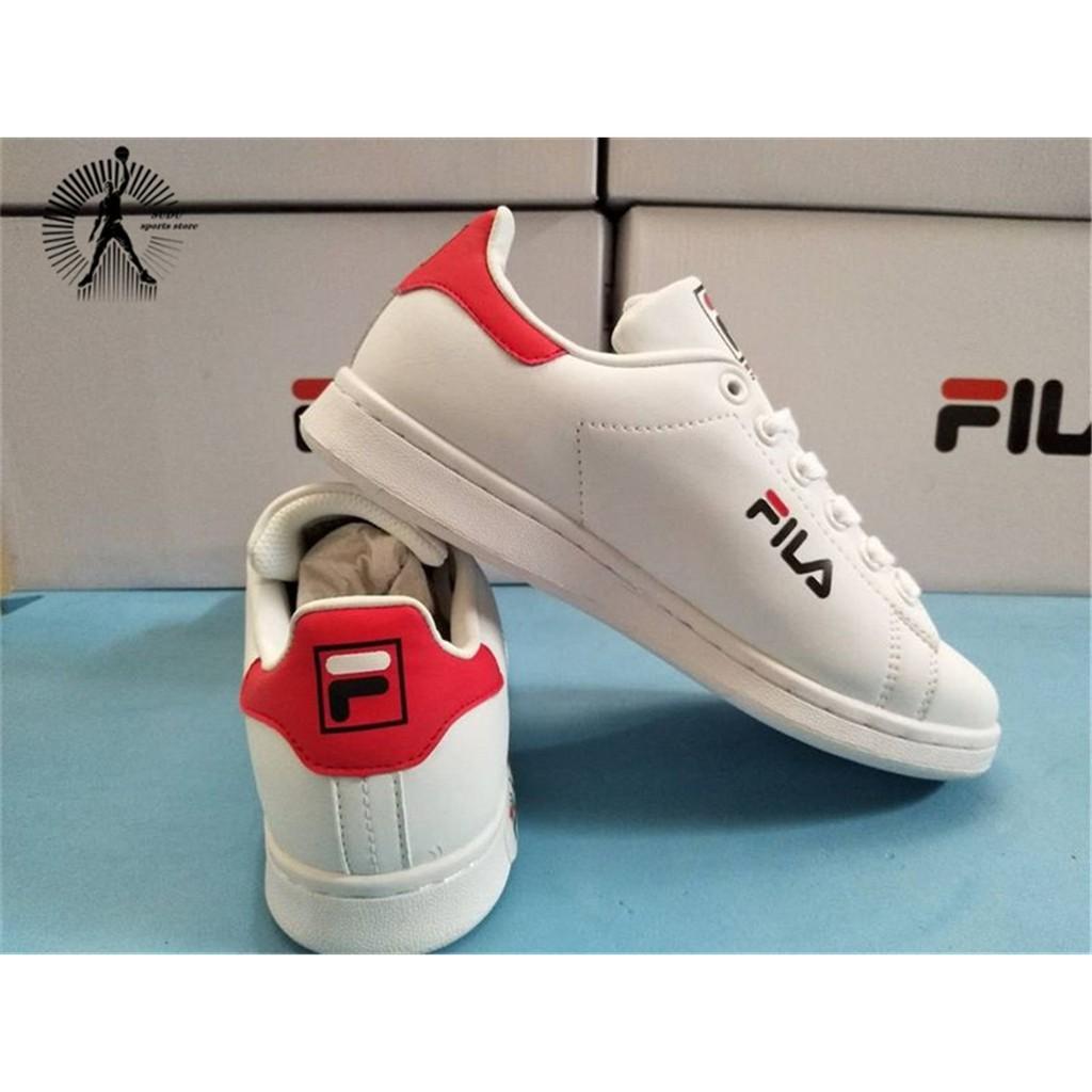 ของแท้จาก FILA รองเท้าผู้หญิงแฟชั่นรองเท้าผ้าใบรองเท้าวิ่งรองเท้าผู้ชาย155