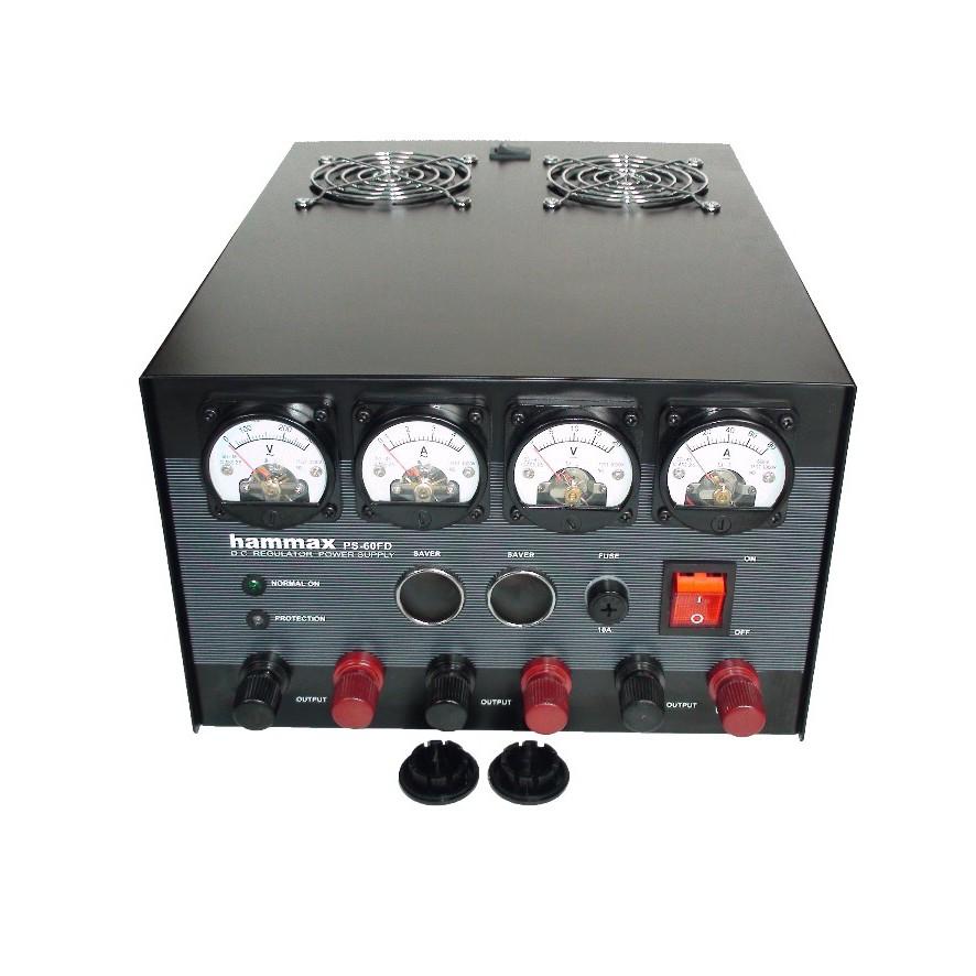 สวิชชิ่ง HAMMAX PS-60FD 60 แอมป์ 13.8V. แบบสวิชชิ่งมีพัดลมระบายความร้อน ประกัน 1ปี