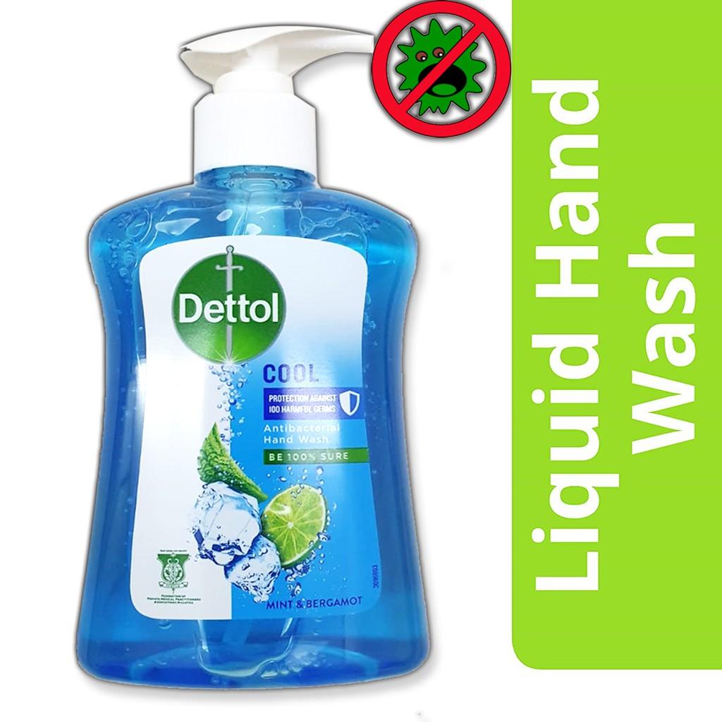 เจลล้างมือ Dettol 250 ml ฆ่าเชื้อแบคทีเรีย