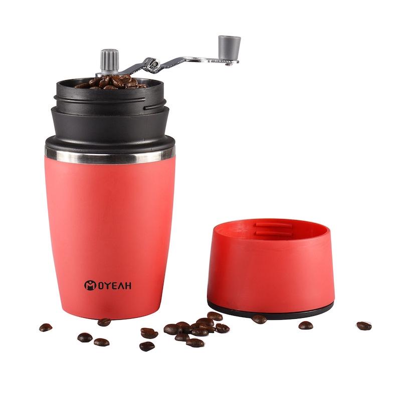เครื่องชงกาแฟมือถือกลางแจ้งแบบพกพาถ้วยกาแฟมินิแคปซูลเครื่องทำกาแฟเอสเปรสโซอเนกประสงค์