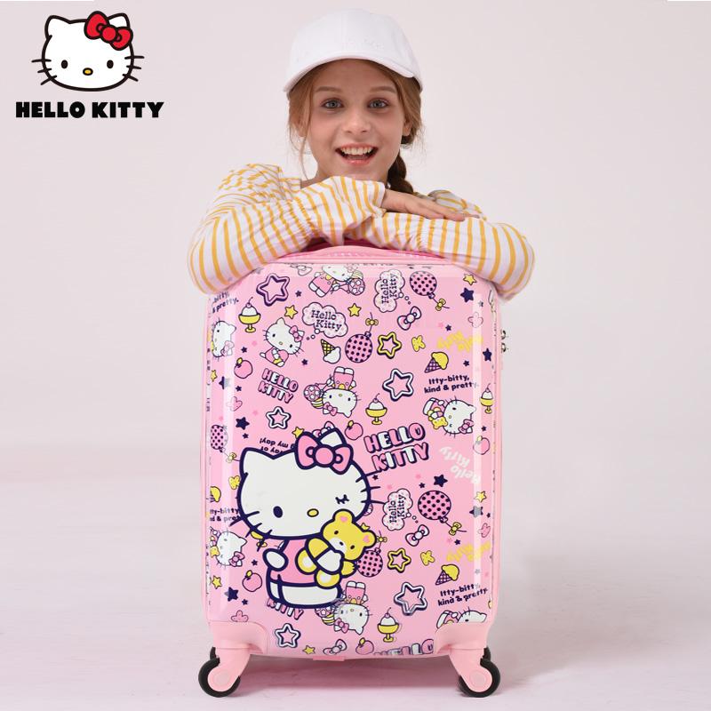 ♫✡กระเป๋าใส่รถเข็นเด็ก  กระเป๋าเดินทางกลางแจ้ง กล่องเก็บเสื้อผ้า HelloKittyกระเป๋าเด็กสาวเจ้าหญิงกรณีรถเข็นการ์ตูนน่ารัก