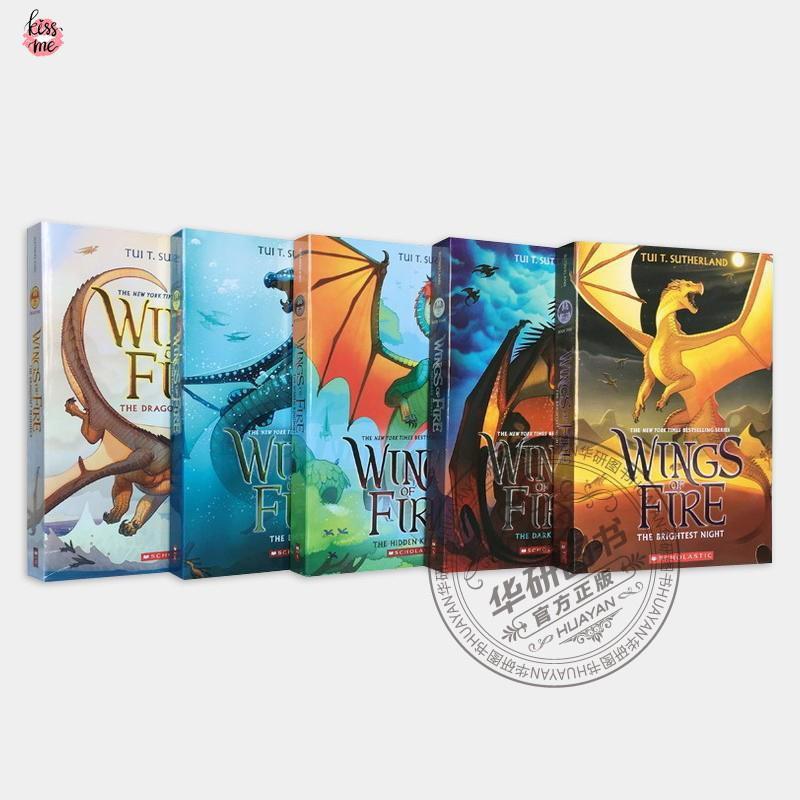 Hot Books Fire Wing Flying Dragon Series 1-5 หนังสือนิทานภาษาอังกฤษสําหรับเด็ก
