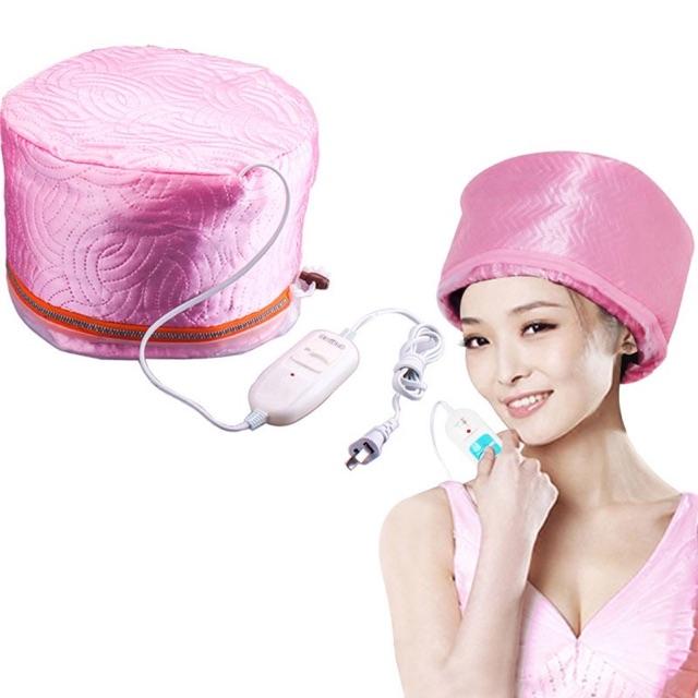 ilu(สินค้าตรงตามรูป) หมวกอบไอน้ำ บำรุงผม พร้อมอุปกรณ์ [คละสี] uQjN