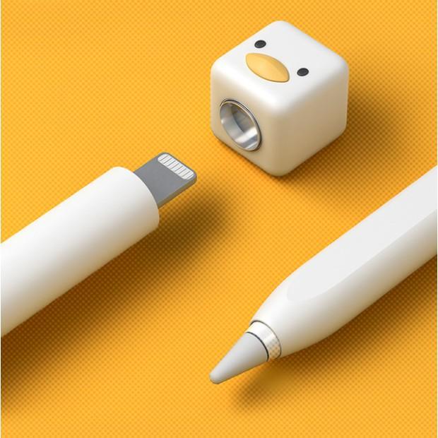 ✨ ✨ 🌻✙✙🔥พร้อมส่ง เคสปากกา applepencil เคสปากกาเป็ด เคส pencil Gen1 ปลอกปากกา เคสซิลิโคน case pencil เคสปากกาเจน1