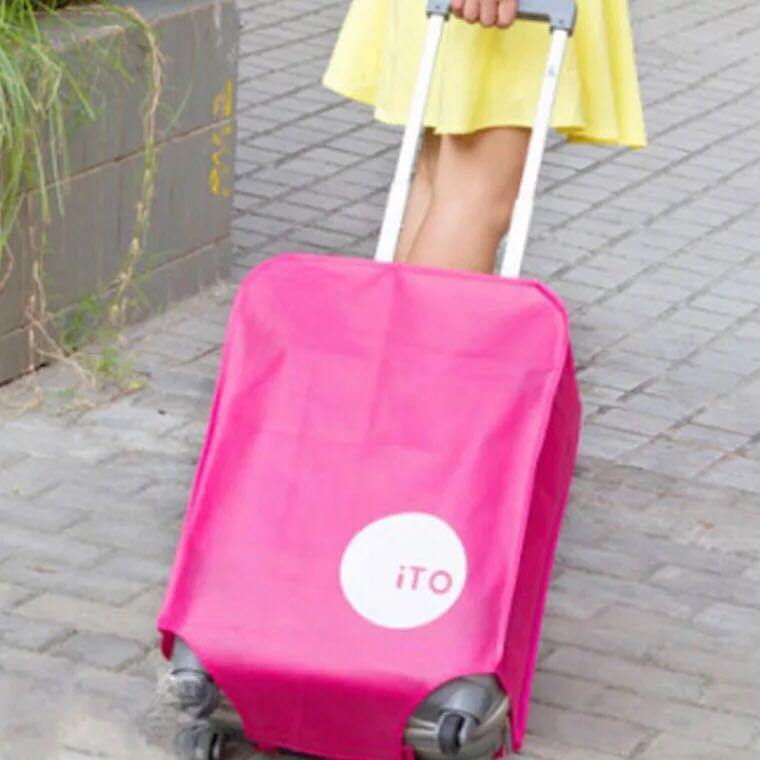 ผ้าคลุมกระเป๋าเดินทาง ถุงคลุมกระเป๋าเดินทาง กระเป๋า ถุงคลุมกันฝุ่น ขนาด 24นิ้ว, 20นิ้ว , 28นิ้ว (มีสินค้าพร้อมส่ง)