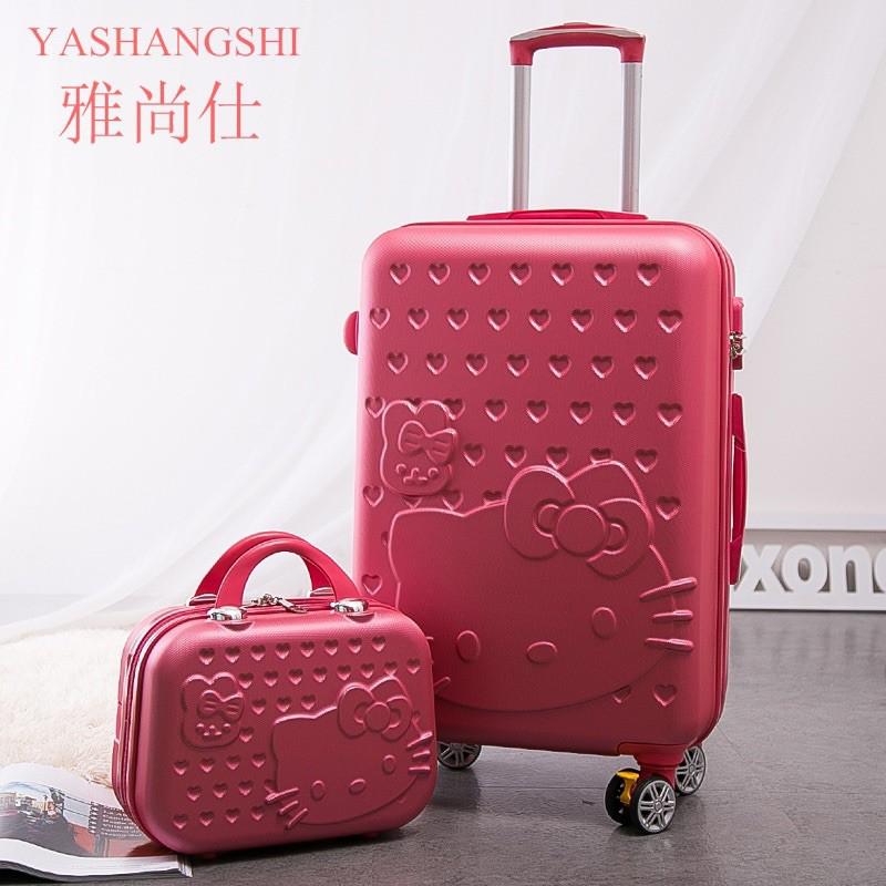 nRKA [ส่งฟรี!] ชุดเซตกระเป๋าเดินทางล้อลากขนาด20นิ้วและ14นิ้ว มีให้เลือก5สี สินค้าพร้อมส่ง