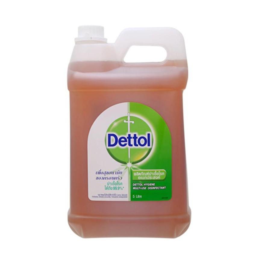 DETTOL เดทตอล ผลิตภัณฑ์ฆ่าเชื้อโรคเอนกประสงค์ ไฮยีน มัลติยูส ขนาด 5000 มล.