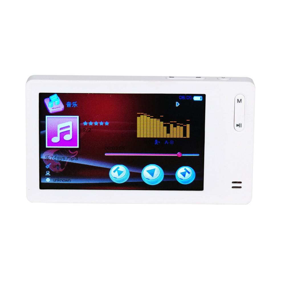 1.8″ Screen Slim LCD 16GB MP4 MP3 Music Media Video Player FM Radio Games Movie