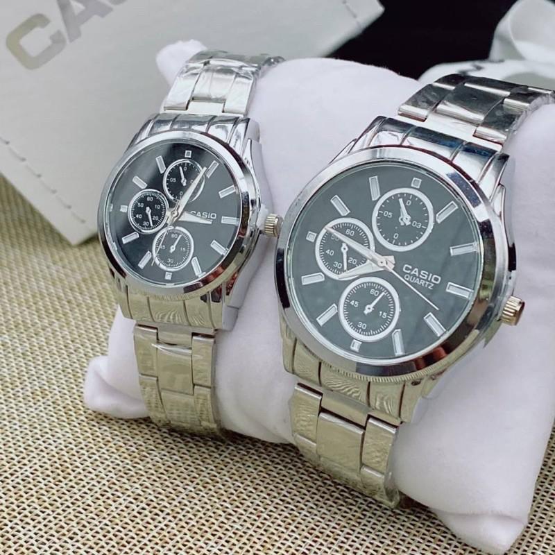 นาฬิกาแฟชั่น CASIO สายสแตนเลส
