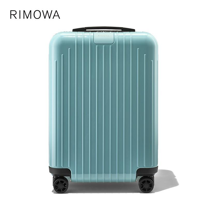 Rimowa Essentiallite กระเป๋าเดินทางขนาด 21 นิ้วสีฟ้า