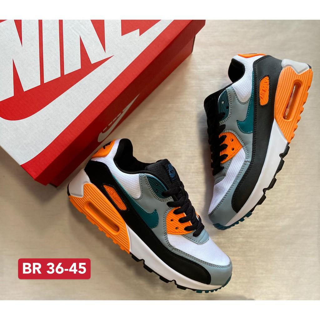 ลดราคา [Sneaker.Run] รองเท้าNike Air Max 90 รองเท้ากีฬา รองเท้าวิ่ง รองเท้าผ้าใบชาย-หญิง สินค้าถ่ายจากงานจริง100%