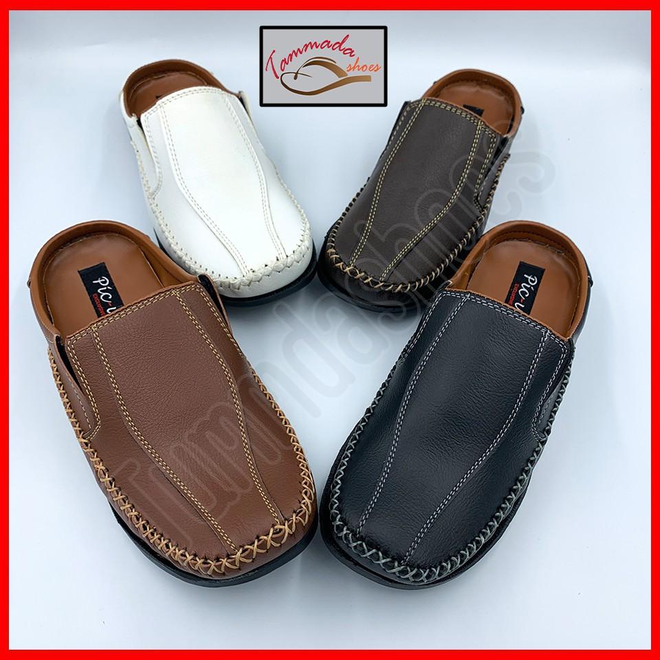 ปิ๊กอัพ รองเท้าคัชชูผู้ชาย รองเท้าคัชชูชาย รองเท้าคัชชูหนังผู้ชาย รองเท้าคัชชูผู้ชายเปิดส้น คัชชูชาย คัชชูเปิดส้นชาย