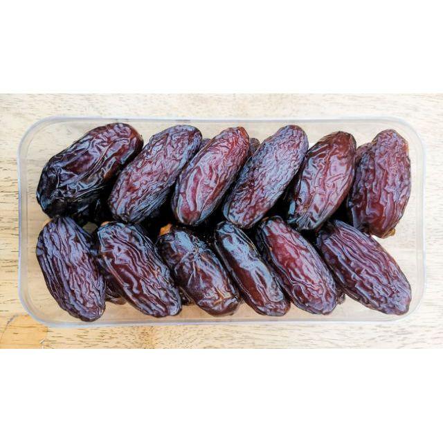 อินทผาลัม เมดจูล ขนาด 500 กรัม Medjool Dates Fruit อินทผลัม Palm fruit premium  เมดจูน อบแห้ง อินทผาลัมสดใหม่