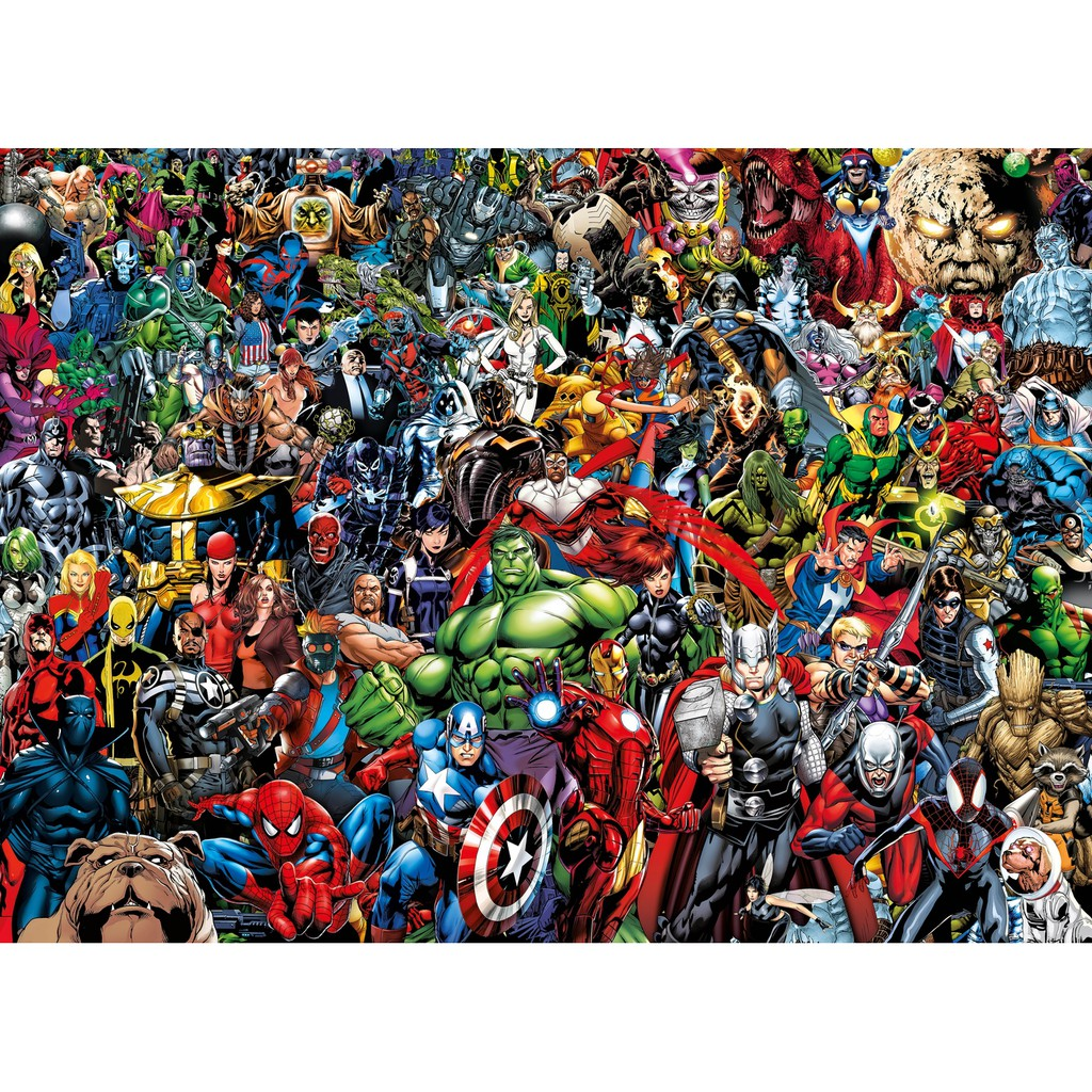 Marvel Avengers impossible 1000 Pieces Jigsaw Puzzle Clementoni