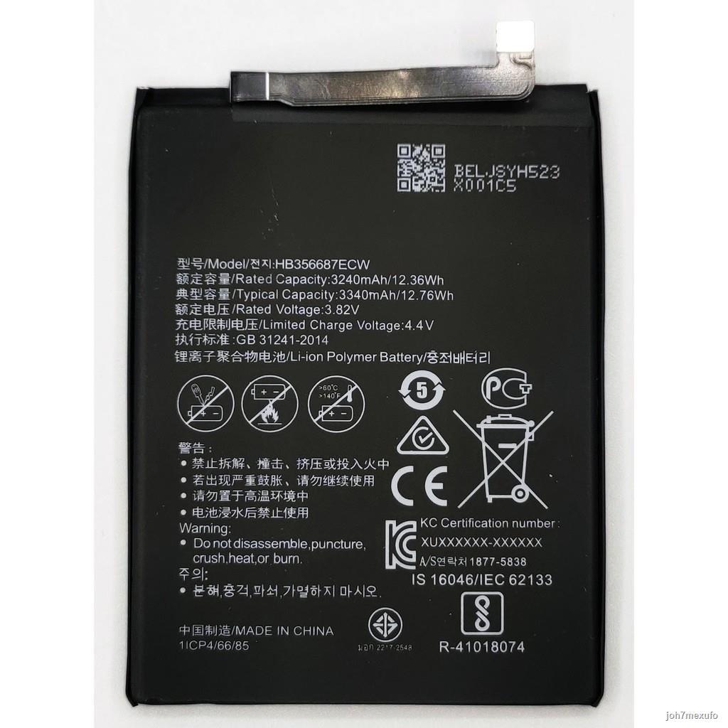 ของแท้ 💯%✓☾แบตเตอรี่ Huawei Nova 3i แบต รับประกัน 3 เดือน Huawei Nova 3i