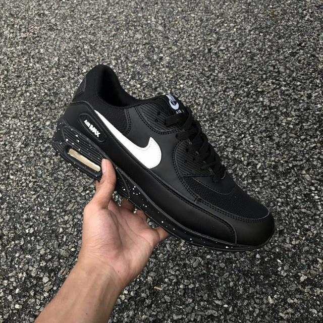 รองเท้าผ้าใบ Nike Airmax 90 Galaxy สีดำ