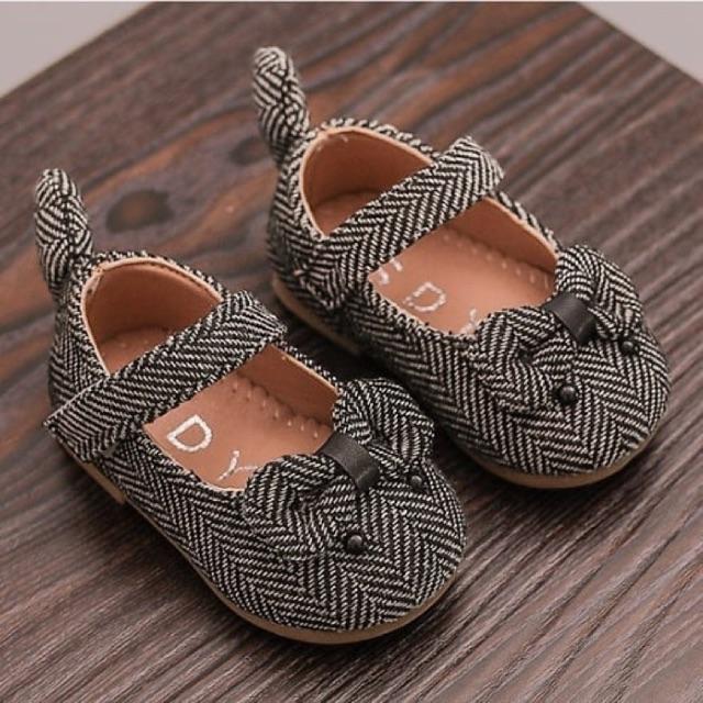 รองเท้าคัชชูสาวน้อยเด็กเล็ก