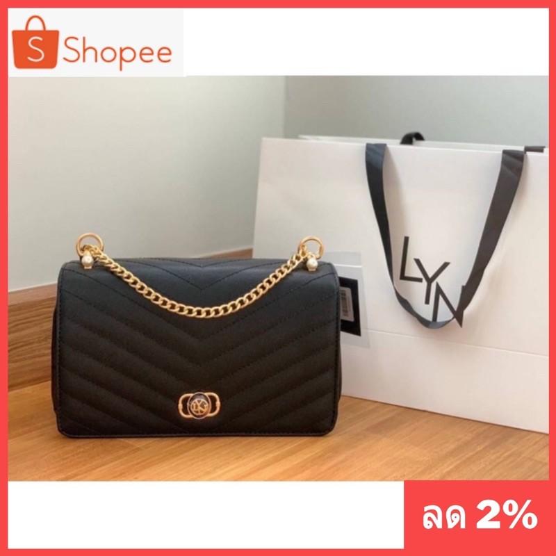 กระเป๋าสวยๆ💜กระเป๋าสะพายลิน#กระเป๋าสะพายข้างแบรนด์#ราคาถูกที่สุด#สายสะพายเป็นโซ่สีทองอย่างดี