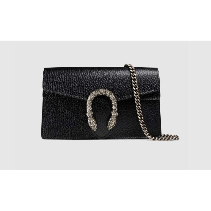 (กทมนัดรับของได้ค่ะ)Gucci กระเป๋าหนัง Dionysus หนัง super mini